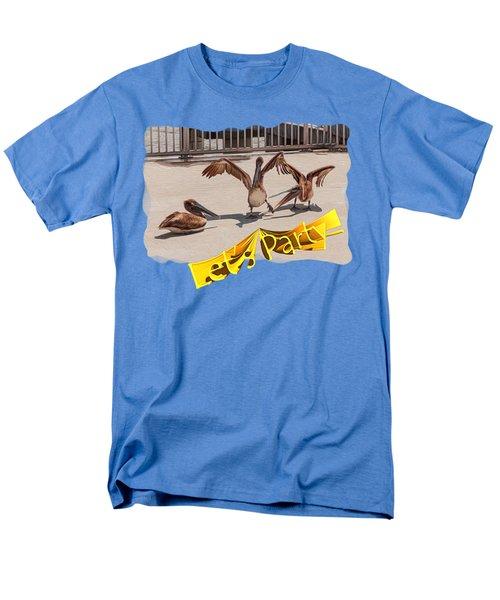 Let's Party Men's T-Shirt  (Regular Fit) by John M Bailey