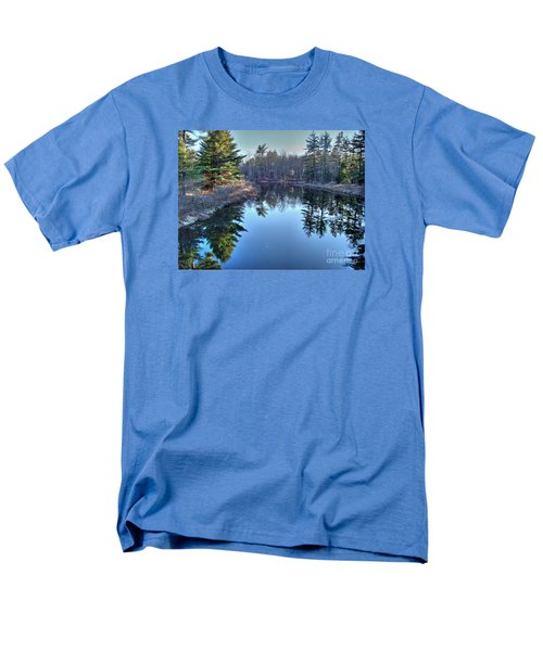 Men's T-Shirt  (Regular Fit) featuring the photograph L'heure Bleu by Betsy Zimmerli