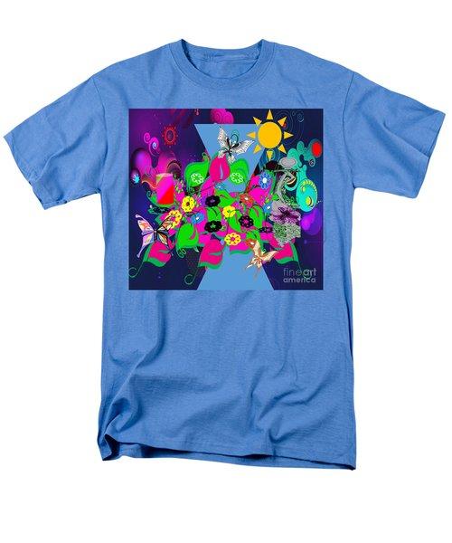 Life Full Of Experiences Men's T-Shirt  (Regular Fit) by Belinda Threeths