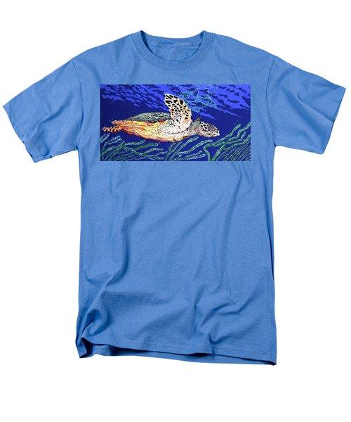 Life In The Slow Lane Men's T-Shirt  (Regular Fit) by Debbie Chamberlin