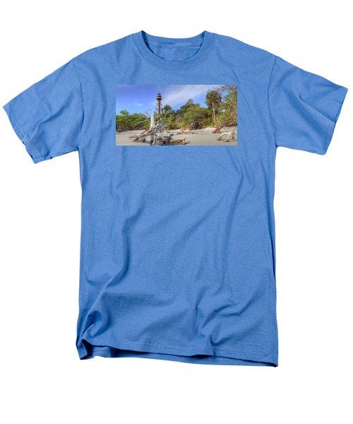 Light Behind The Stump Men's T-Shirt  (Regular Fit) by Sean Allen