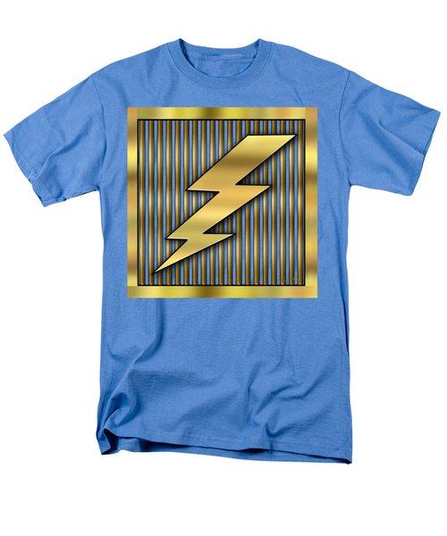 Lightning Bolt Men's T-Shirt  (Regular Fit) by Chuck Staley