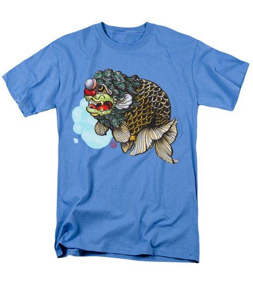 Lion Head Ranchu Men's T-Shirt  (Regular Fit) by Shih Chang Yang