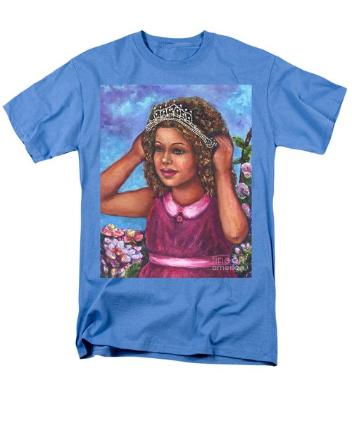 Men's T-Shirt  (Regular Fit) featuring the painting Little Princess by Alga Washington
