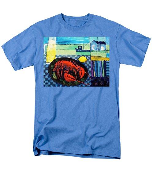 Lobster Men's T-Shirt  (Regular Fit) by Mikhail Zarovny