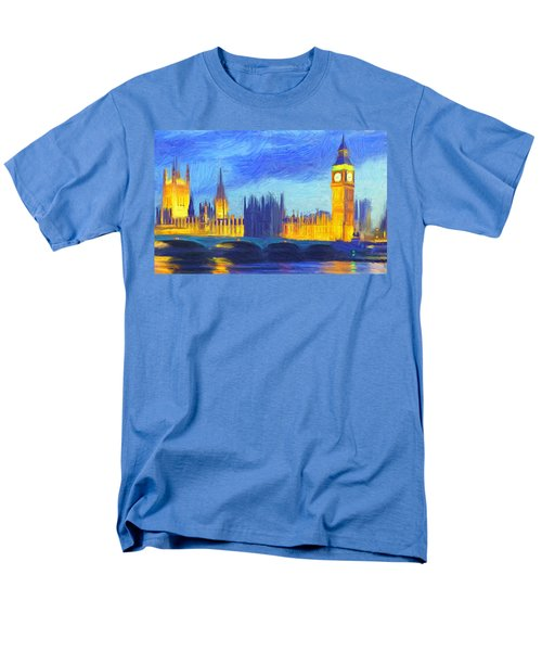 London 1 Men's T-Shirt  (Regular Fit) by Caito Junqueira