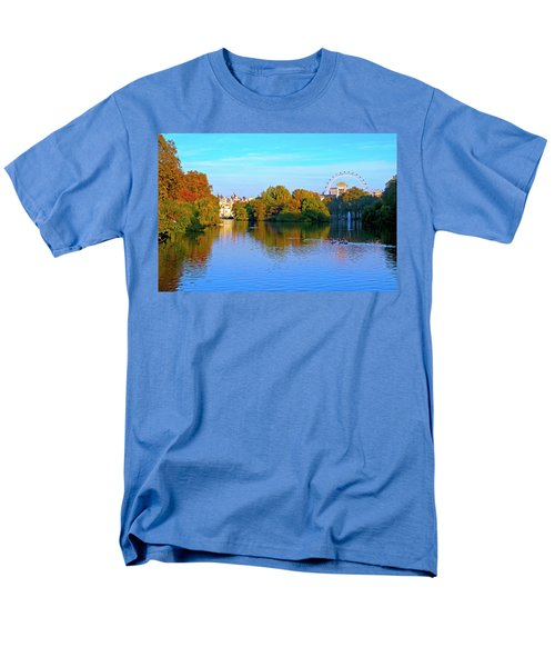 London Eye And Palace Men's T-Shirt  (Regular Fit) by Haleh Mahbod
