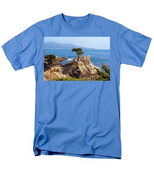 Lone Cypress Men's T-Shirt  (Regular Fit) by Lou Ford