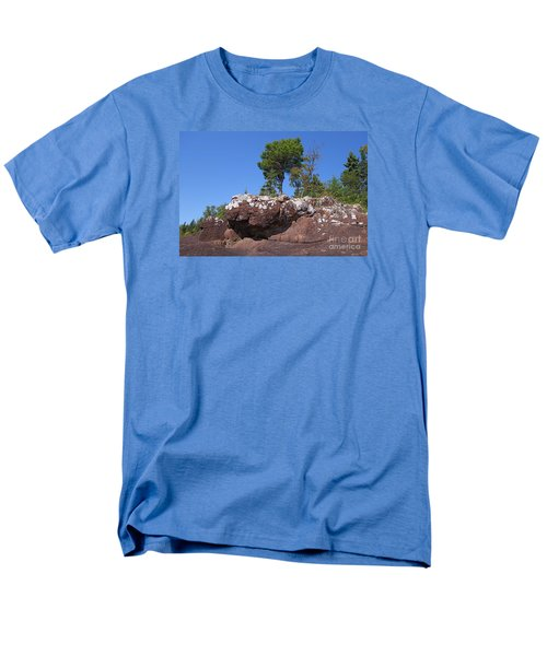 Men's T-Shirt  (Regular Fit) featuring the photograph Lone Pine Sentinel  by Sandra Updyke