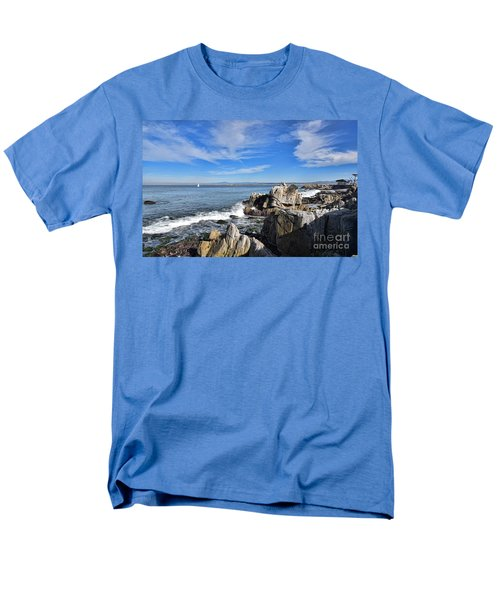 Men's T-Shirt  (Regular Fit) featuring the photograph Lovers Point Park by Gina Savage