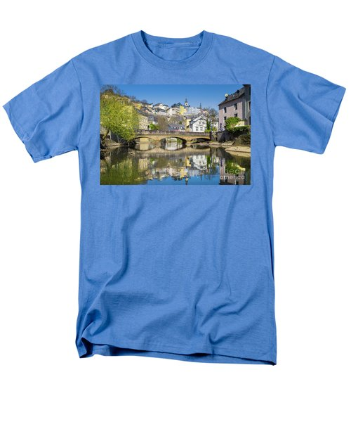 Luxembourg City Men's T-Shirt  (Regular Fit) by JR Photography