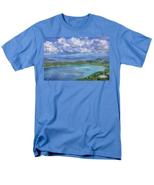 Magens Bay  Men's T-Shirt  (Regular Fit) by Olga Hamilton