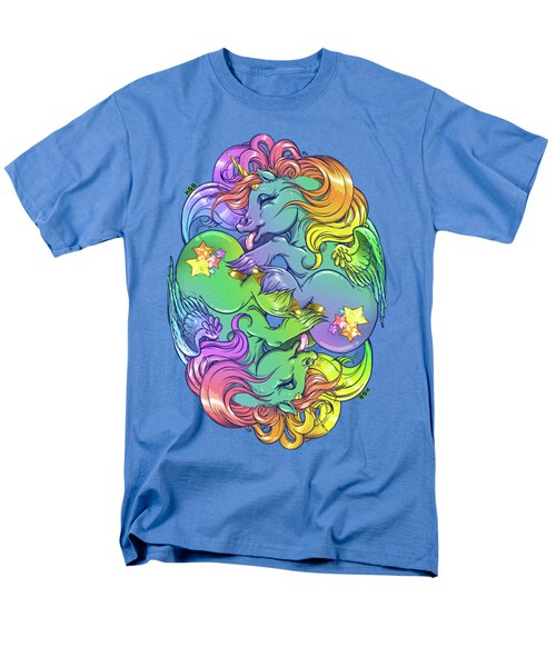 Magial Lesbian Ponies Men's T-Shirt  (Regular Fit) by Kelsey Bigelow