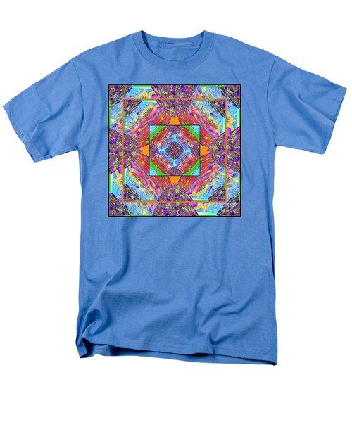 Men's T-Shirt  (Regular Fit) featuring the digital art Mandala #1 by Loko Suederdiek