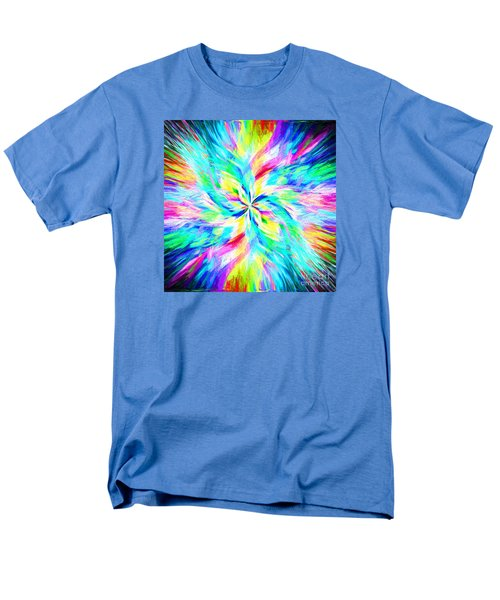 Men's T-Shirt  (Regular Fit) featuring the photograph Mandala Twirl 03 by Jack Torcello