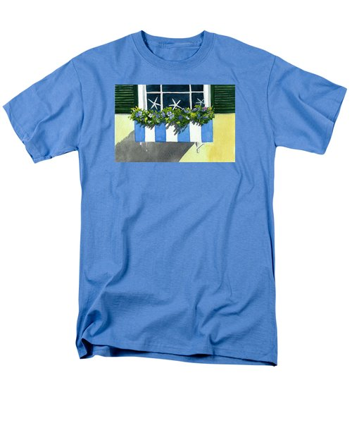 Marblehead Planter Box Men's T-Shirt  (Regular Fit) by Anne Marie Brown