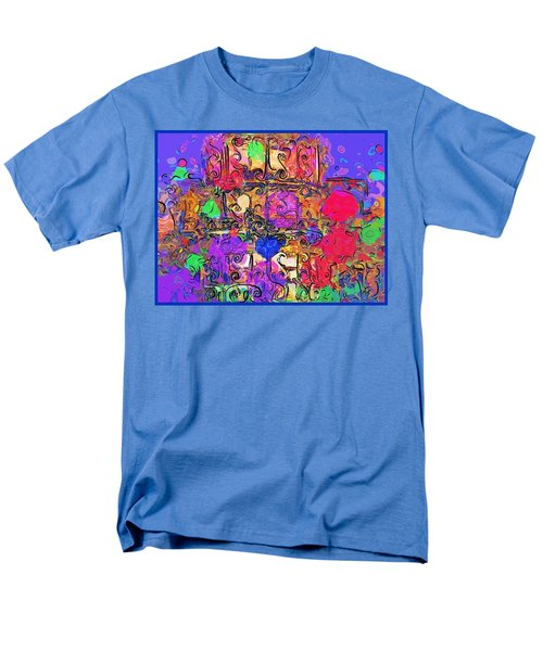 Men's T-Shirt  (Regular Fit) featuring the digital art Mardi Gras by Alec Drake