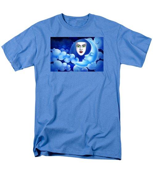 Mardi Gras At Night Men's T-Shirt  (Regular Fit) by Gary Crockett
