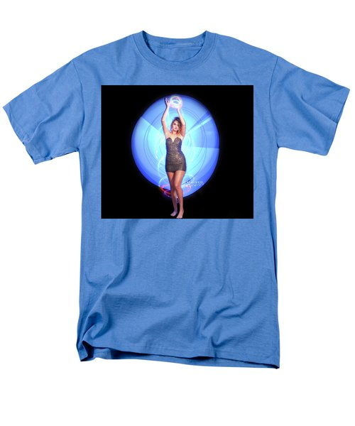 Maria Bringing Magic To The Night. Men's T-Shirt  (Regular Fit) by Andrew Nourse