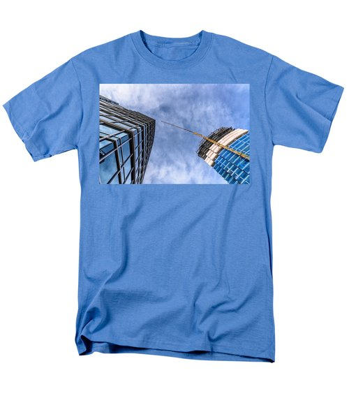 Meeting The New Neighbor Men's T-Shirt  (Regular Fit) by Randy Scherkenbach