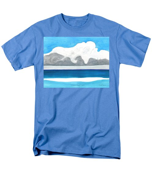 Miami Beach, Florida Men's T-Shirt  (Regular Fit) by Dick Sauer