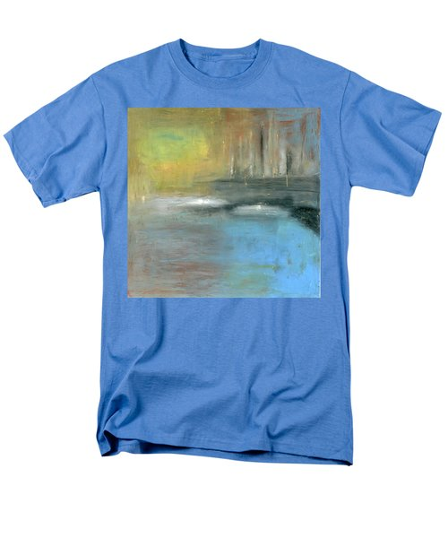 Men's T-Shirt  (Regular Fit) featuring the painting Mid-summer Glow by Michal Mitak Mahgerefteh