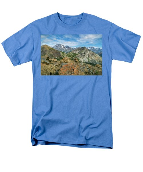 Midday At Iron Peak Men's T-Shirt  (Regular Fit) by Ken Stanback