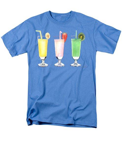 Milkshake In Style Men's T-Shirt  (Regular Fit) by Sonja Taljaard