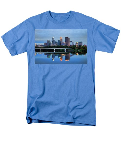 Minneapolis Reflections Men's T-Shirt  (Regular Fit)