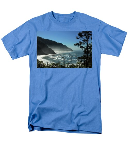 Misty Coast At Heceta Head Men's T-Shirt  (Regular Fit)