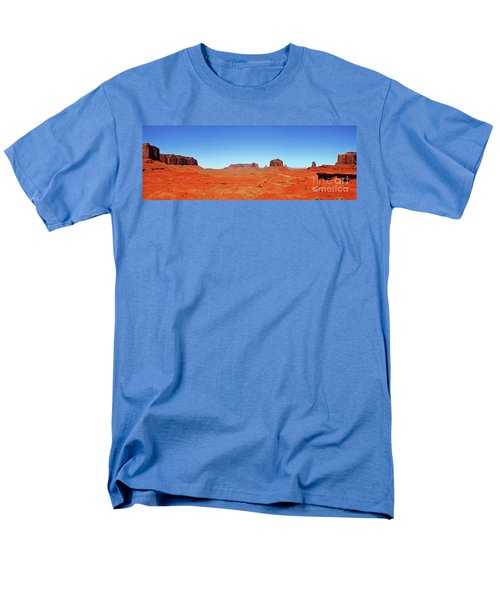 Monument Valley Two Men's T-Shirt  (Regular Fit) by Paul Mashburn