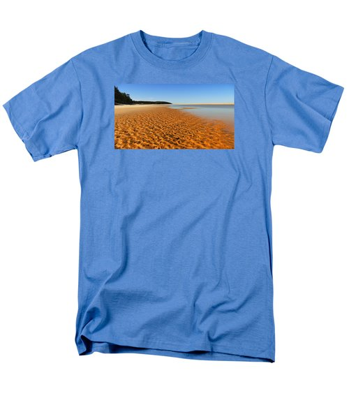 Men's T-Shirt  (Regular Fit) featuring the photograph More Sand 01 by Kevin Chippindall