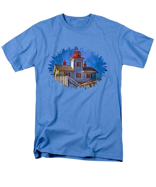 Morning At The Yaquina Bay Lighthouse Men's T-Shirt  (Regular Fit) by Thom Zehrfeld