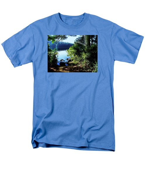 Morning Kayak Solitude Men's T-Shirt  (Regular Fit) by Joy Nichols