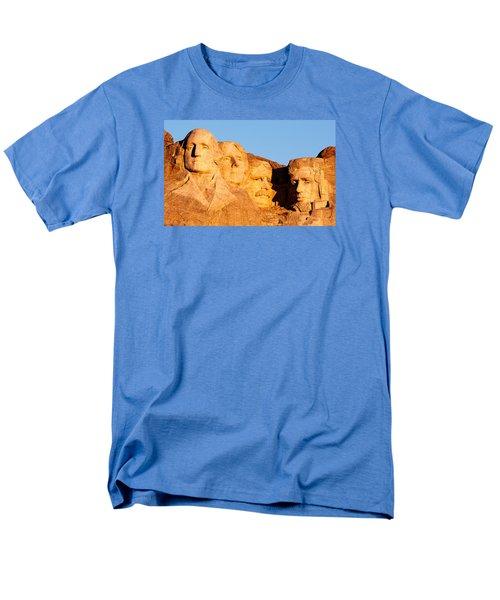 Mount Rushmore Men's T-Shirt  (Regular Fit) by Todd Klassy