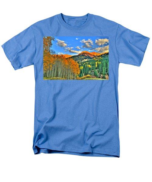 Mountain Beauty Of Fall Men's T-Shirt  (Regular Fit) by Scott Mahon