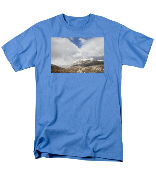 Mountain Clouds And Sun Men's T-Shirt  (Regular Fit) by Michele Cornelius