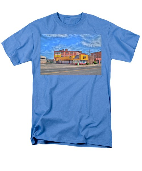 Men's T-Shirt  (Regular Fit) featuring the photograph Mr Tire 15117 by Guy Whiteley