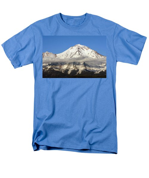 Men's T-Shirt  (Regular Fit) featuring the photograph Mt. Shasta Summit by Holly Ethan