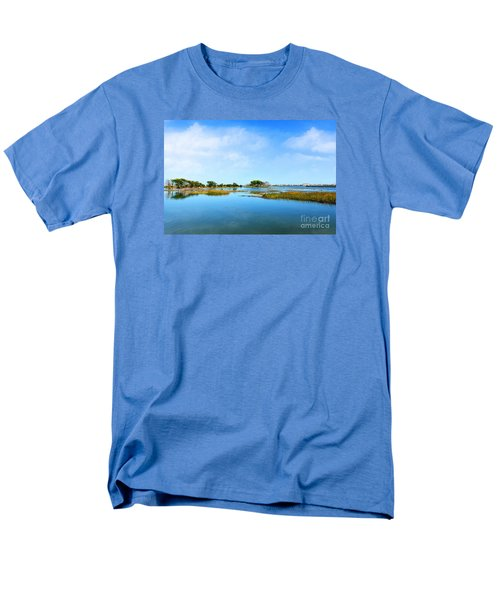 Murrells Inlet Men's T-Shirt  (Regular Fit) by Kathy Baccari