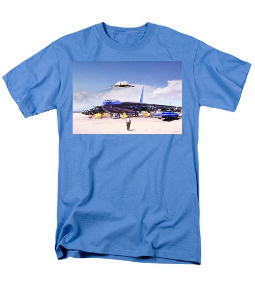 Men's T-Shirt  (Regular Fit) featuring the digital art My Baby B-52 by Peter Chilelli
