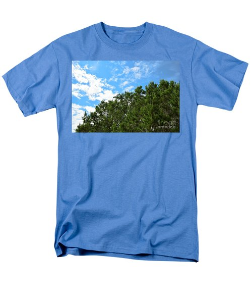 Men's T-Shirt  (Regular Fit) featuring the photograph Nature's Beauty - Central Texas by Ray Shrewsberry