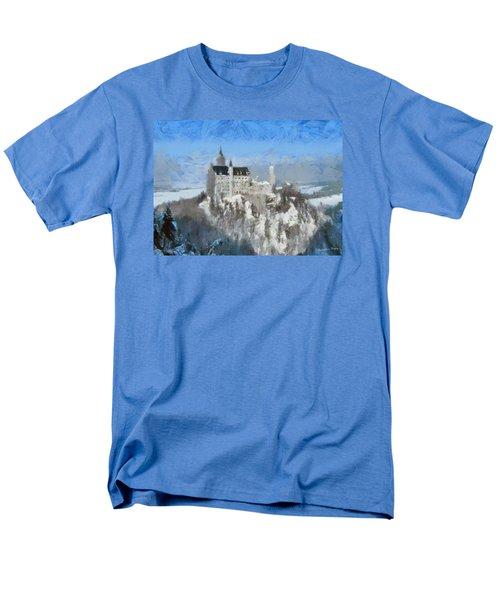 Neuschwanstein Castle Men's T-Shirt  (Regular Fit) by Sergey Lukashin