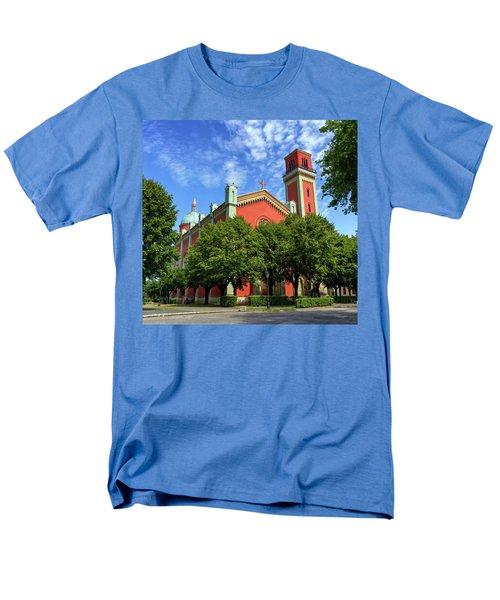 New Lutheran Church In Kezmarok, Slovakia Men's T-Shirt  (Regular Fit) by Elenarts - Elena Duvernay photo