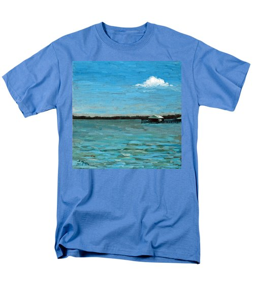 Men's T-Shirt  (Regular Fit) featuring the painting No Rain Today by Suzanne McKee