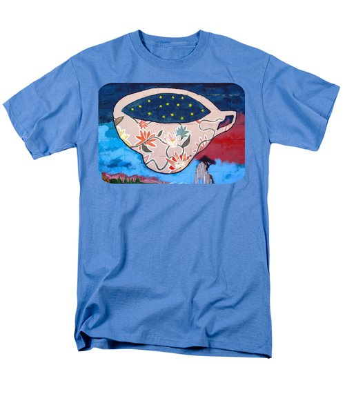 Men's T-Shirt  (Regular Fit) featuring the photograph Not My Cup Of Tea by Ethna Gillespie