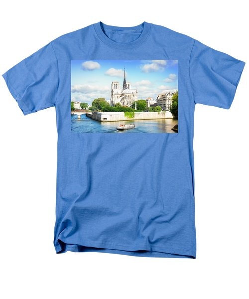 Notre Dame Cathedral, Paris France Men's T-Shirt  (Regular Fit) by Anastasy Yarmolovich