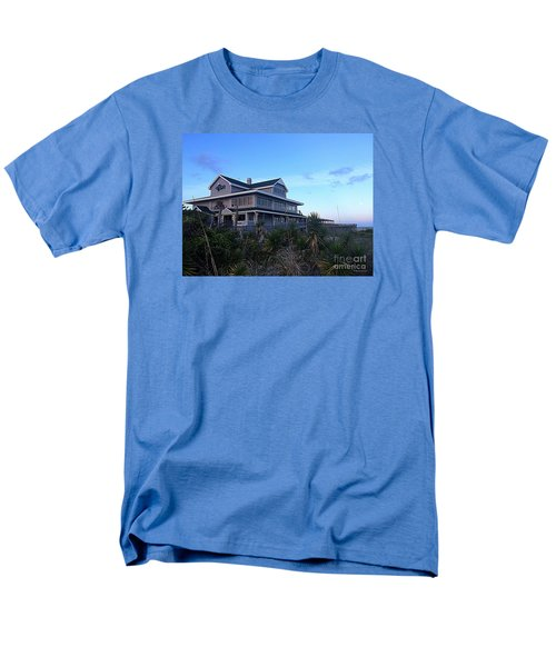 Men's T-Shirt  (Regular Fit) featuring the photograph Oceanic - Wrightsville Beach by Shelia Kempf