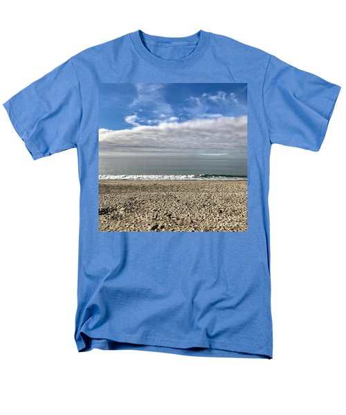 Men's T-Shirt  (Regular Fit) featuring the photograph Ocean's Edge by Kim Nelson