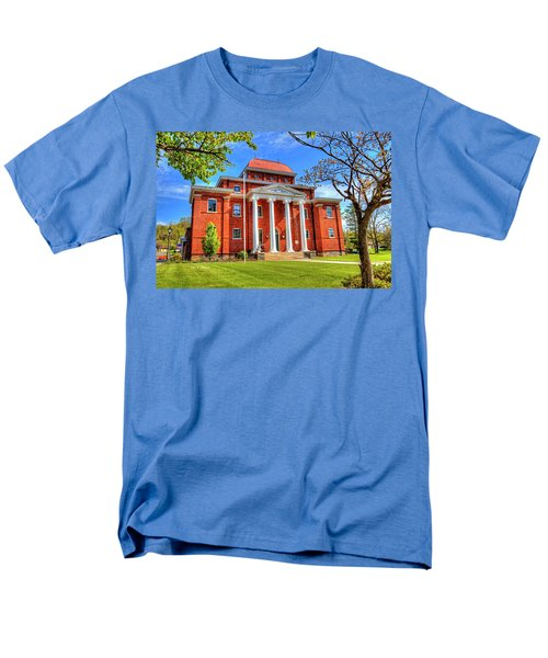 Old Ashe Courthouse Men's T-Shirt  (Regular Fit) by Dale R Carlson